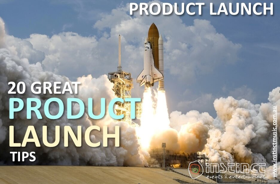 20 great product launch tips