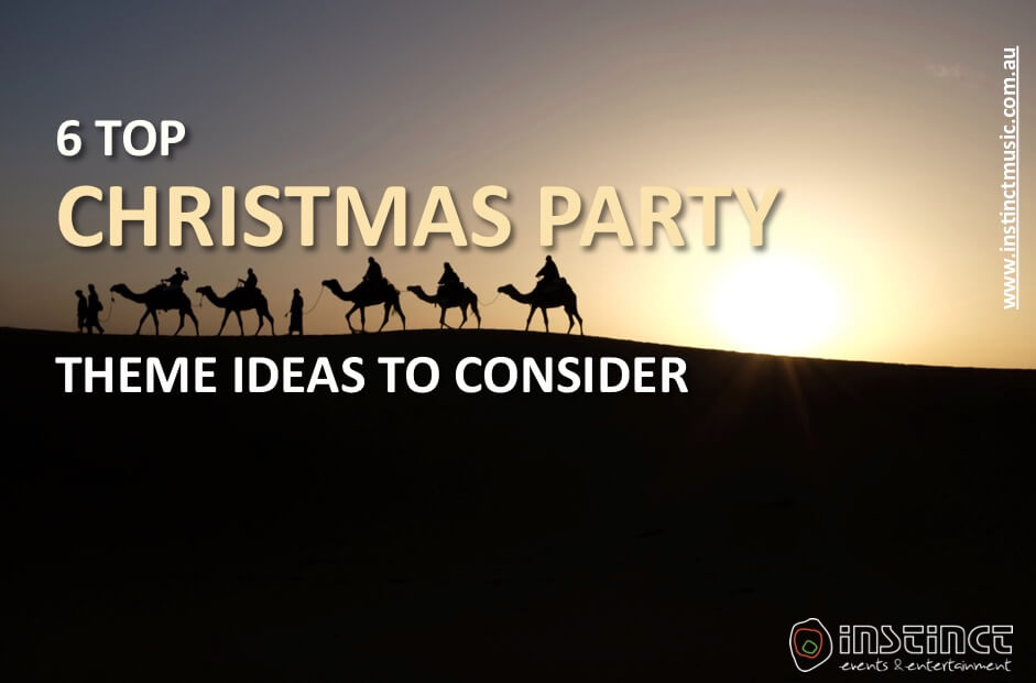 6 Top Themed Christmas Party Ideas To Consider
