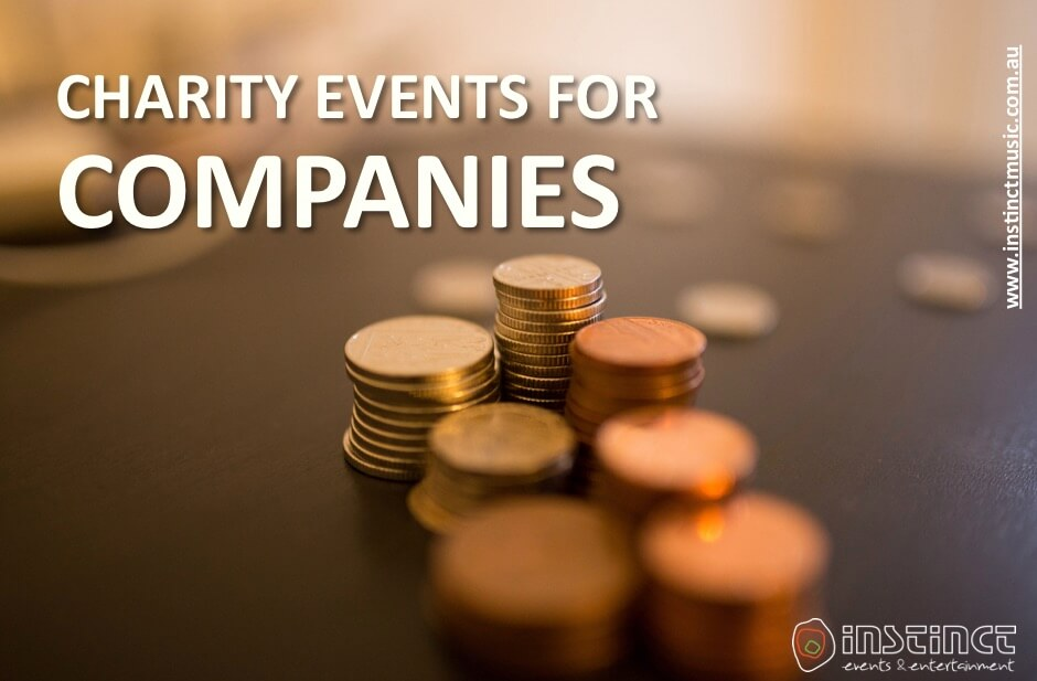 Charity events for companies