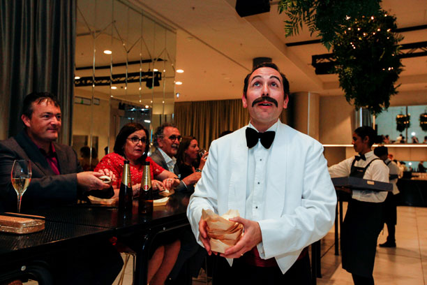 Fawlty Towers Roving Floor Show