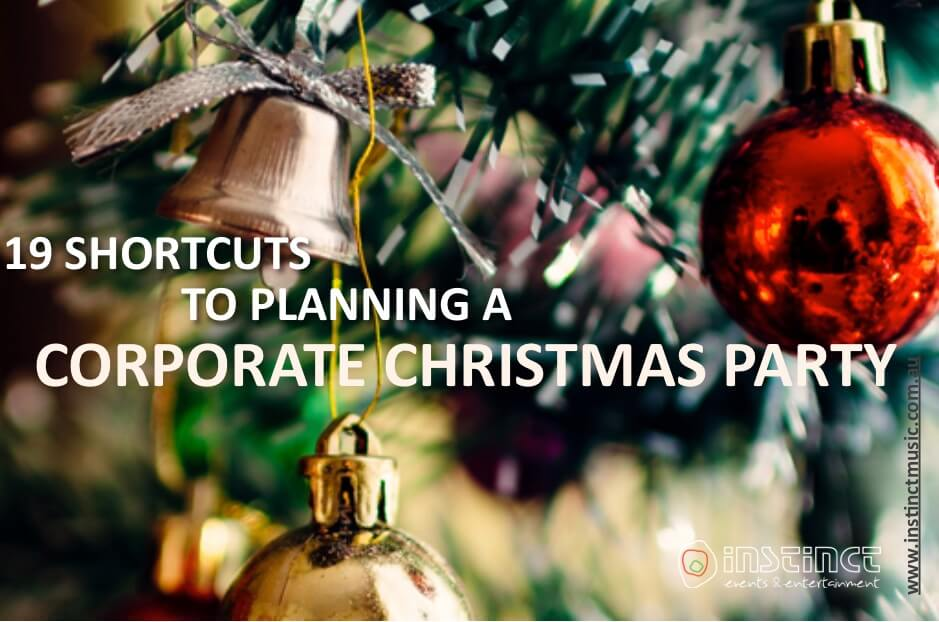 Corporate Christmas Party Ideas Sydney Part - 46: 19 Shortcuts To Planning A Corporate Christmas Party