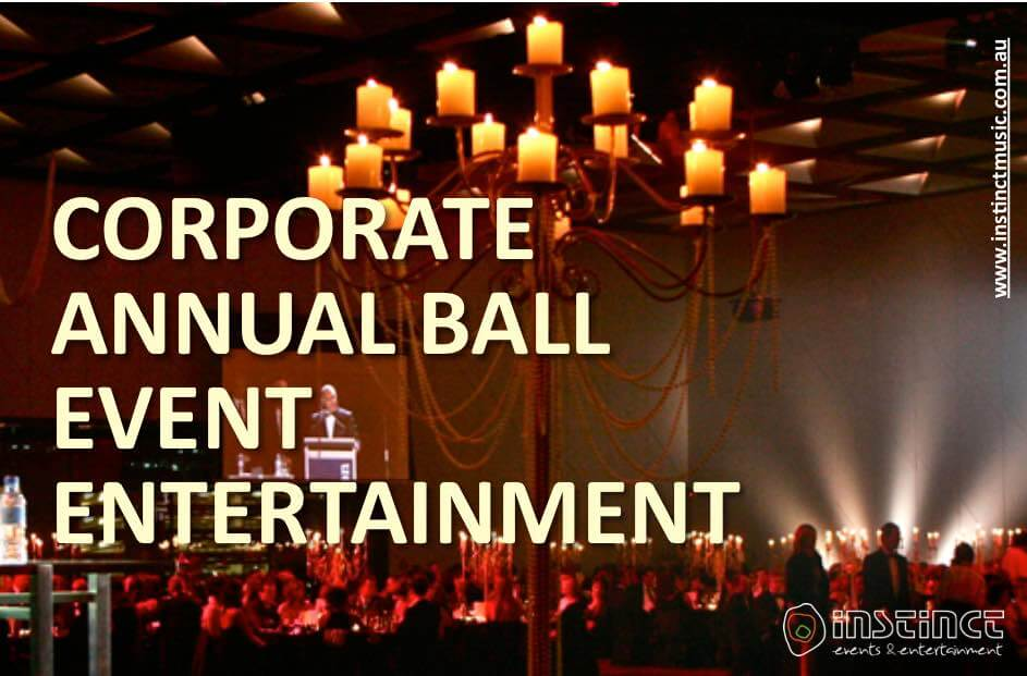 CORPORATE ANNUAL BALL EVENT MANAGEMENT