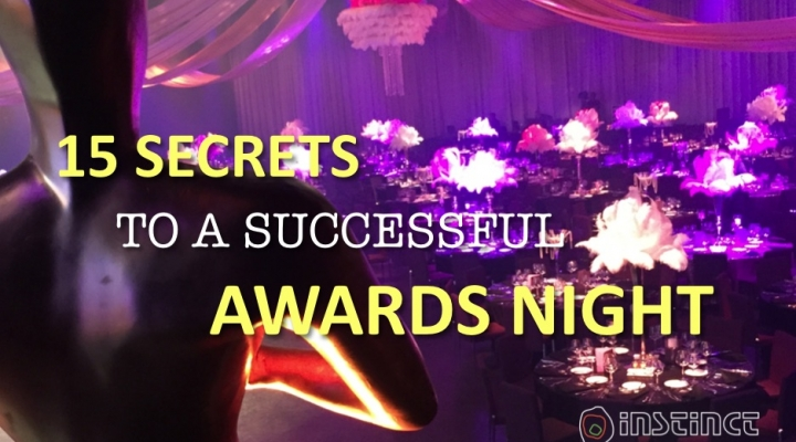 15 Secrets to a Successful Awards Night