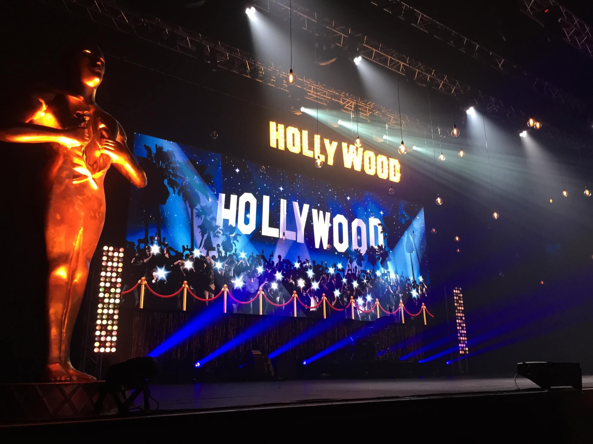 Hollywood theme corporate events
