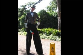 Doorman On Stilts