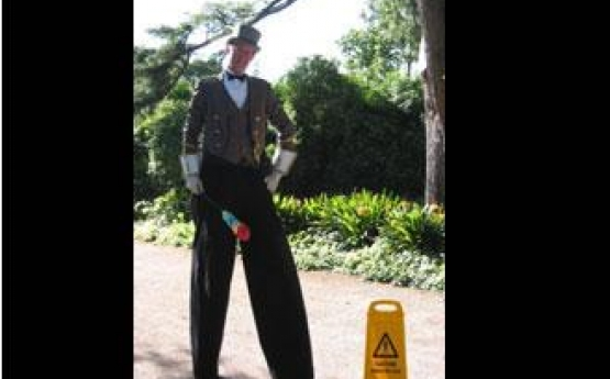 Doorman On Stilts