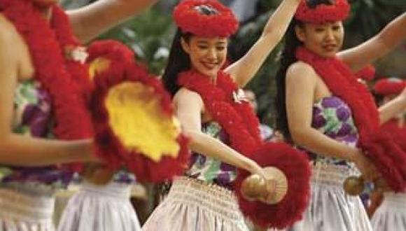Pacific Hula Girls