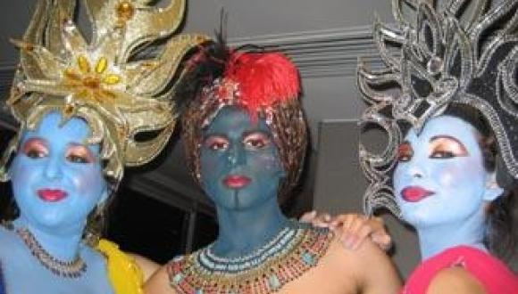 Blue Genies
