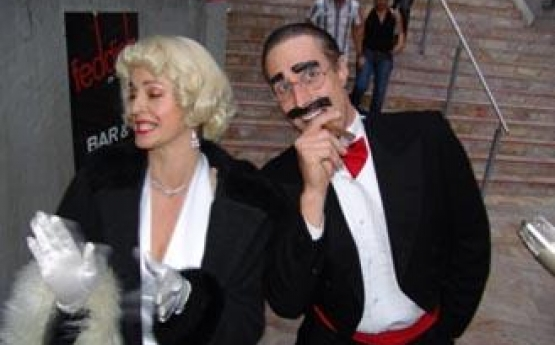 Marilyn and Groucho