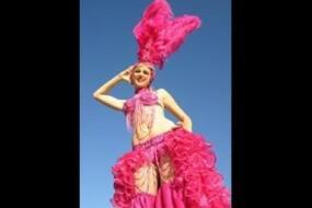 Pink Calypso Showgirl – Stilts