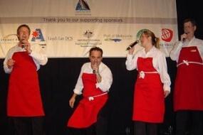 The Singing Waiters