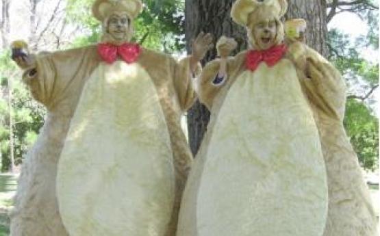 Furry Teddy Bears