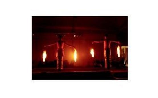 Dazzling Fire Dancers