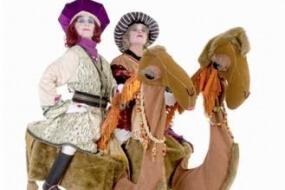 Stilt Walking Camels