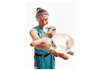 Crystal Palm Juggler