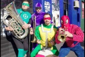 Superhero Brass