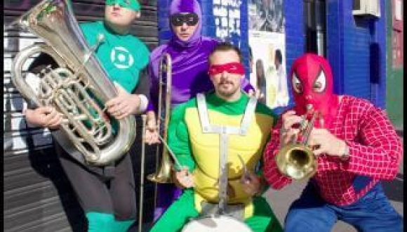 Superhero Brass