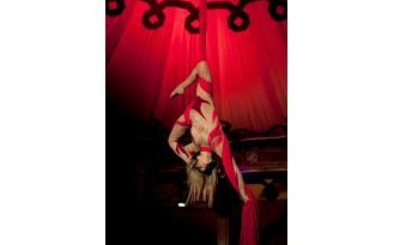 Burlesque Silks Act