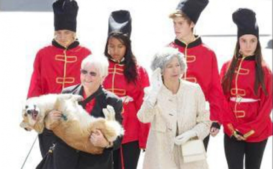 Her Majesty The Queen Impersonator