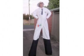 Mad Scientist on Stilts