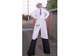 Mad Scientist on Stilts
