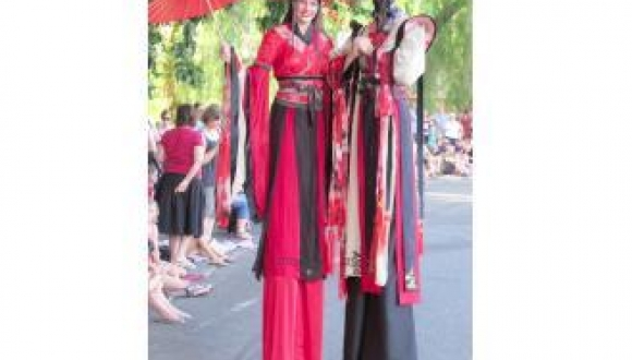 Chinese Costume Stilts