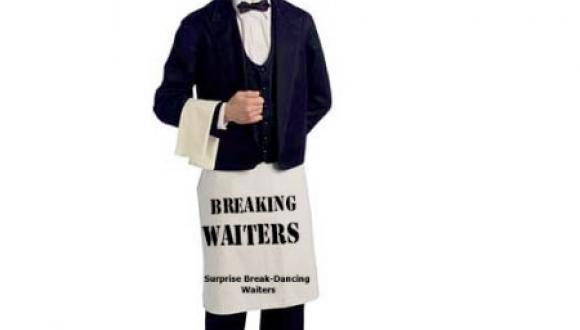Break Dancing Waiters NSW