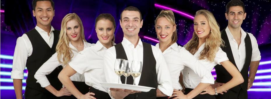 Break Dancing Waiters NSW
