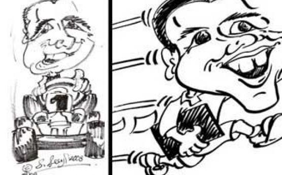 Cartoon Ya Face