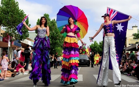 Festival Stiltwalkers