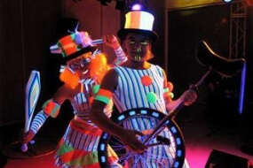 Glow Circus and UV Dancers