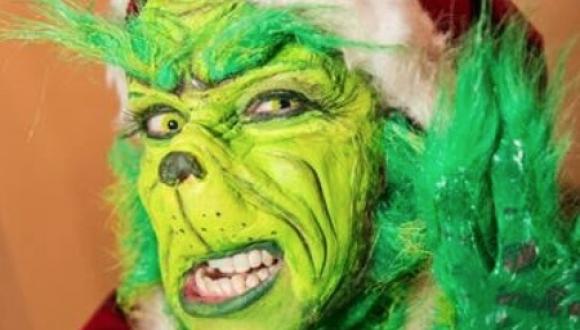 Grinch Impersonator