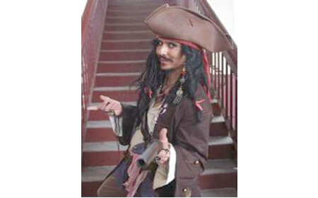 Jack Sparrow Impersonator QLD