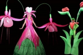 Long Stem Flower Stilts
