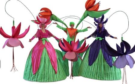 Long Stem Flower Stilts