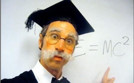 Professor E=MC2