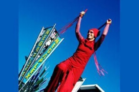 Red Ribbon – Stilts