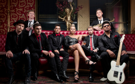 Red Tie Band