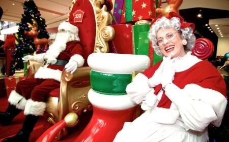 Santa's Arrival Parade