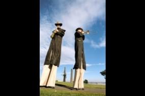 Stockman on Stilts
