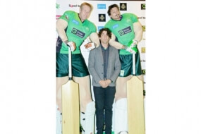 Tall Cricketers