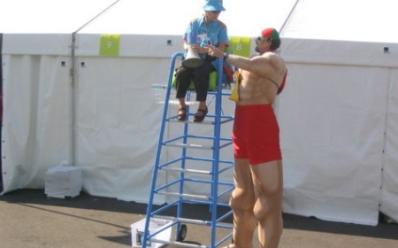 Tall Lifeguards
