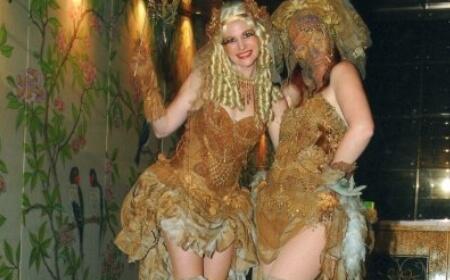 Vintage Masquerade Dolls