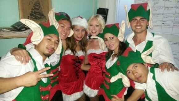 Christmas Elves Hip Hop Style