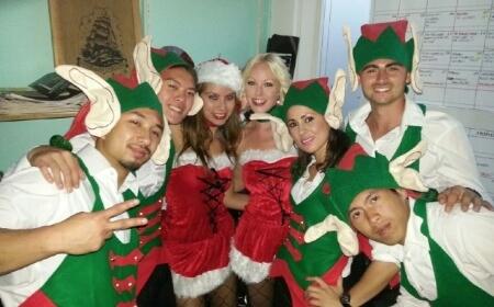 Christmas Elves Hip Hop Style