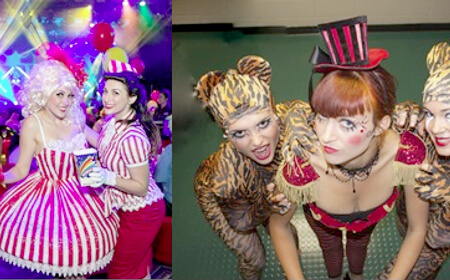 Circus Characters For Hire For Events
