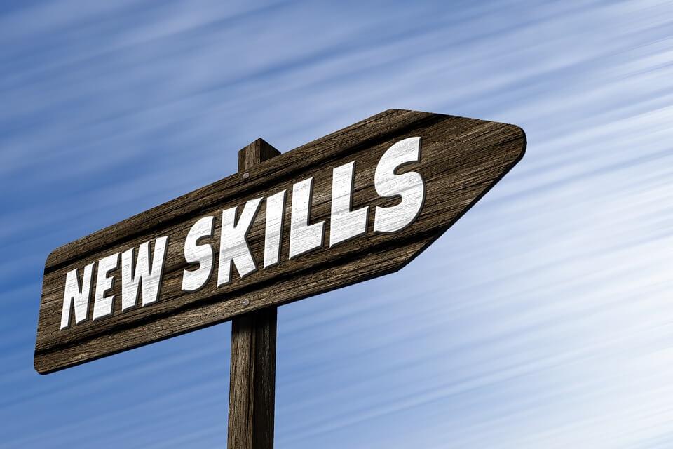 new skills sign