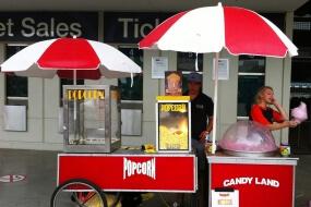 Popcorn & Fairy Floss Machine