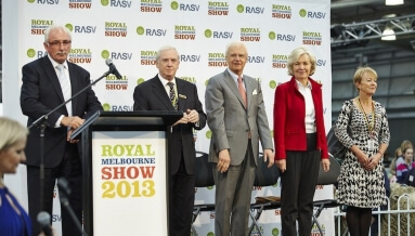 ROYAL MELBOURNE SHOW CEREMONIES