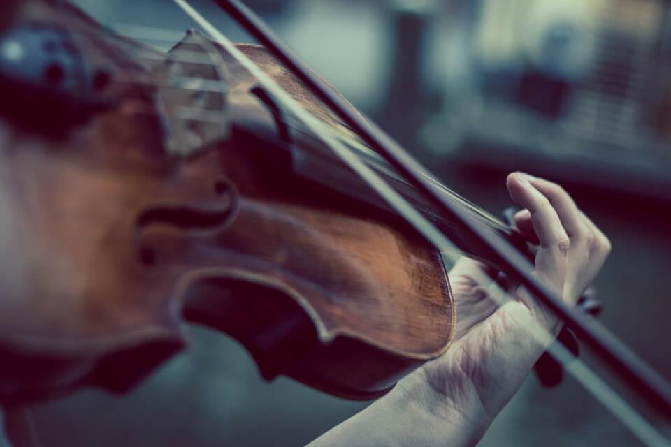 Classical Music violinist